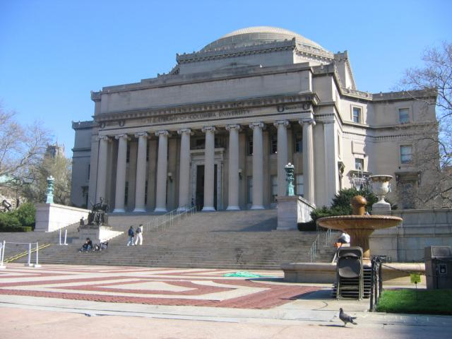 Columbia University, New York City, New York. File Photo